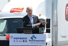 Frito-Lay's All-Electric Fleet of Delivery Trucks