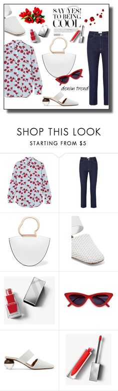 """""""Say Yes to Being Cool"""" by melody-renfro-goldsberry ❤ liked on Polyvore featuring Equipment, Casasola, Danse Lente, Neous and Burberry Danse Lente, Cool Stuff, Stuff To Buy, Burberry, Polyvore, Shopping, Collection, Design, Women"""