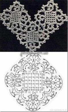 Transcendent Crochet a Solid Granny Square Ideas. Inconceivable Crochet a Solid Granny Square Ideas. Filet Crochet, Crochet Diagram, Crochet Chart, Irish Crochet, Diy Crochet, Crochet Ideas, Crochet Motif Patterns, Crochet Squares, Knitting Patterns