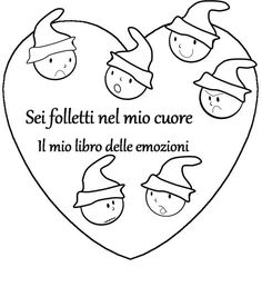 Costruire il libro delle emozioni Baby E, Italian Language, Book Crafts, Kids Education, Life Skills, Cool Kids, Feelings, Learning, School