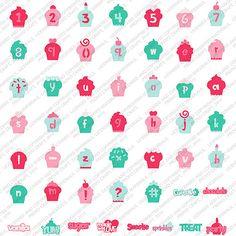 Cricut Lite - Cupcake Cartridge---would be a cute birthday theme