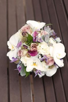 Really unique combination of blooms in this bouquet! Photography by weheartphotography.com, Floral Design by jennifercoleflorals.com
