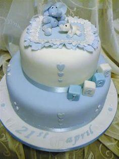 christening cake for a boy - Cerca con Google