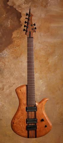 "Zoov Guitars 28"" Scale Seven String #guitar"