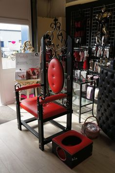 La Boudoir Boutique providing Sex Toys, Erotic Lingerie, Fashion Bondage Wear & BDSM Equipment in our female friendly Sex Shop in Kent. Dungeon Furniture, Playroom Furniture, Furniture Plans, Wood Furniture, Dungeon Room, Red Rooms, Play Spaces, Fun Activities, Toys