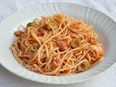 Pasta senza glutine tonno e olive