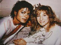 #FriendlyFriday: Michael Jackson and Barbra Streisand