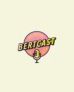 Bert Kreisher podcast logo : graphic_design