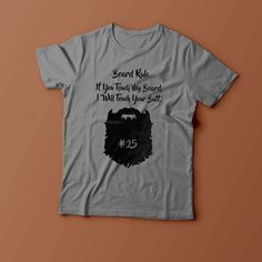 If You Touch My Beard Mens Hipster Fashion Funny T Shirt New S - XXL by ToffeeTees on Etsy