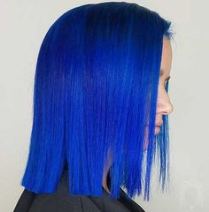 6-New Short Blue Hair