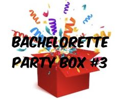 Items similar to Ultimate Bachelorette Party Box - Adult Party Favors - OilPatchBurlesque - Bachelorette Party for 8 - Mature Content on Etsy Bachelorette Party Supplies, Bachelorette Gifts, Party Favors For Adults, Hen Party Games, 21st Party, Candy Bouquet, Party In A Box, Gag Gifts, Balloons