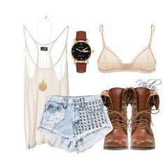 """Basic tank"" by nhabyg on Polyvore"