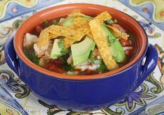 Chicken Tortilla Soup posted on ourbestbites.com and definitely looks like it is worth a try, very picky about chicken tortilla soup.