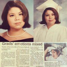 20 years ago today #may301997 #pomonacatholic #classof1997 #classof97  #catholicschoolgirl #allgirlsschool #dailybulletin #90s #20yearsago #highschoolgraduation