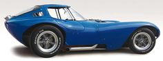 The Chevy powered Cheetah is a less well known but really great looking car from the early 1960s. Built to compete with the AC Cobra.