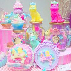 Kawaii Pastel Dream Toy Shelf Goals! www.CuteVintageToys.com  Hundreds Of  Precious Vintage Toys From The 80s & 90s! Follow Me & Use The Coupon Code PINTEREST For 10% Off Your ENTIRE Order!  Dozens of G1 My Little Ponies, Polly Pockets, Popples, Strawberry Shortcake, Care Bears, Rainbow Brite, Moondreamers, Keypers, Disney, Fisher Price, MOTU, She-Ra Cabbage Patch Kids, Dolls, Blues Clus, Barney, Teletubbies, ET, Barbie, Sanrio, Muppets, Sesame Street, & Fairy Kei Cuteness!