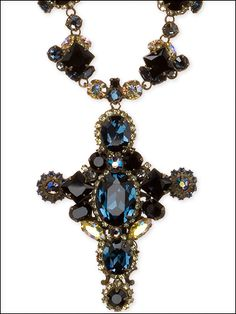 Sorrelli Necklace in Montana Sky by Sorrelli - $322.50 (http://www.sorrelli.com/products/NBN21AGMTS)