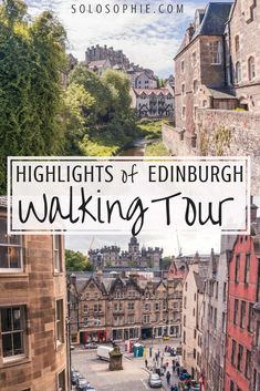 Edinburgh Walking Tour: A Free & Self-Guided Itinerary Free and self-guided walking tour of Edinburgh. Must see attractions in the capital of Scotland including Edinburgh Castle, Arthur's Seat, Royal Mile & More! Scotland Vacation, Scotland Travel, Ireland Travel, Scotland Trip, Highlands Scotland, Glasgow Scotland, Portugal Travel, Scottish Highlands, Italy Travel