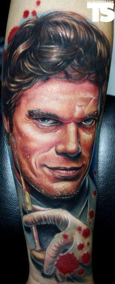 Tattoo by Paul Acker