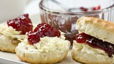 The lightest and fluffiest scones
