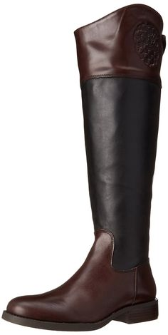 Vince Camuto Women's Fabina-Wide Riding Boot: Wide Calf -- Click image to review more details. (This is an affiliate link and I receive a commission for the sales)