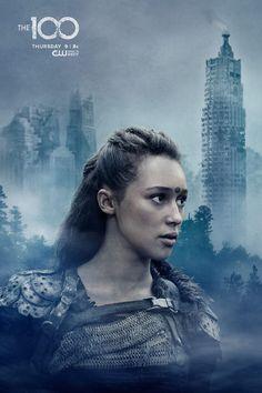Alycia Debnam-Carey as (Lexa) #The100...Sexiest commander ever! Well cast The 100, well cast!!