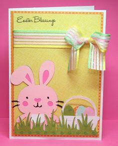 Create a Critter Easter bunny card