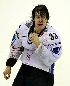 Anssi Salmela (born August 13, 1984) is a Finnish professional ice hockey defenceman currently playing for the Avangard Omsk of the Kontinental Hockey League (KHL). // I love him, he's the craziest ever =D