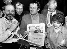 Pierwszy numer Gazety Wyborczej, Adam Michnik