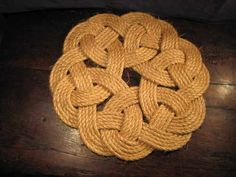Image result for rope work mat
