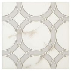 ANN SACKS Liberty rockefeller circle medium mosaic in moonstone white frost glass, moonstone white clear glass and calacatta oro stone Backsplash Copper Backsplash, Beadboard Backsplash, Herringbone Backsplash, Kitchen Backsplash, Backsplash Ideas, Tile Ideas, Hexagon Backsplash, Kitchen Countertops, Stone Mosaic