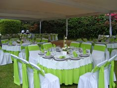 Decoración de boda en color verde: tendencias modernas 2015 Ve más fotos en IDEAS de EVENTOS
