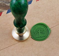 2015 venta Caliente sello de cera/diseño del árbol de la vida/Saludos de escritorio creativos WS086