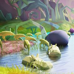 This artwork is inspired from the movie Cloady And The Change Of Meatballs 2