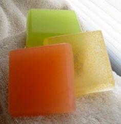 Glycerine Soap Recipes...Luscious Body Soap recipe and Coffee & Cream Soap recipe