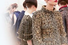 Backstage: Chanel, Haute Couture Fall/Winter 2015.