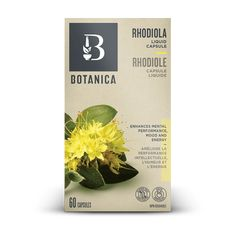 Rhodiola Liquid Herb   Herbs   Botanica Rhodiola Rosea, How To Calm Nerves, Herbal Extracts, Capsule, Inspirational Videos, Mood, Drying Herbs, Energy Level, Breastfeeding