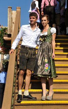 Soccer star Thomas Müller & his lovely wife Lisa