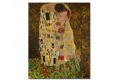 Obraz współczesny Pocałunek
