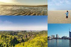 Die schönsten Reiseziele in Deutschland für Familien Kids And Parenting, Desktop Screenshot, Waves, Vacation, Beach, Outdoor, Summer Vacations, Holiday Destinations, Vacations