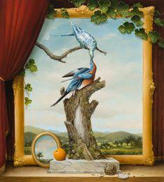 Paintings by Colorado-based artist Kevin Sloan. More images below.        Kevin Sloan's Website