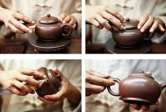 Full hand Yixing teapot making process - chinese loose tea and teaware wholesale, buy bulk and loose china tea Yixing Teapot, Polymer Clay Jewelry, Tea Pots, Minerals, Pottery, Traditional, How To Make, Health, Fitness