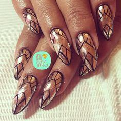 """THE """"AND ALL THAT JAZZ"""" NAIL for Graciela! #nailswag #nails #nailart #nailartclub #swag #gelnail #LA"""
