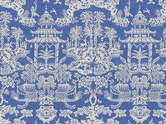 "Brunschwig & Fils ""Lhasa Blue"""