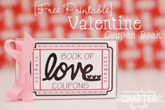 Really cute coupon book for Valentine's Day. Mommy by day Crafter by night: {Free Printable} Valentine Coupon Book My Funny Valentine, Valentine Day Love, Valentine Day Crafts, Printable Valentine, Valentine Ideas, Holiday Crafts, Kids Valentines, Holiday Decor, Free Printable Coupons