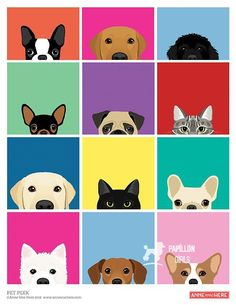 This is just part of a growing collection of peeking cats and dogs. If you would… This is just part of a growing collection of peeking cats and dogs. If you would like to see all of the available breeds, please send an email with your request.