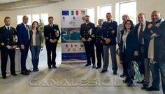 Porto Capo d'Orlando - In visita l'ammiraglio Martello - http://www.canalesicilia.it/porto-capo-dorlando-visita-lammiraglio-martello/ Capo d'Orlando, Nunzio Martello, Porto