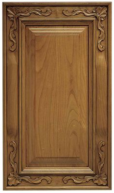 Carved Wood Kitchen Cabinet Doors - Step by step instructions for measuring your-face frame cabinets for new cupboard doors. Cupboard Door Design, Kitchen Cabinet Doors Only, Cabinet Door Designs, Wood Cabinet Doors, Custom Cabinet Doors, Wooden Main Door Design, Wood Kitchen Cabinets, Custom Cabinetry, Wooden Doors