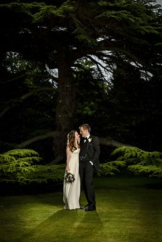 Missenden Abbey has a number of picturesque areas perfect for photographs to remember your big day - like this magnificent and ancient Cedar Tree.