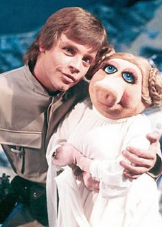 Luke and Miss Piggy